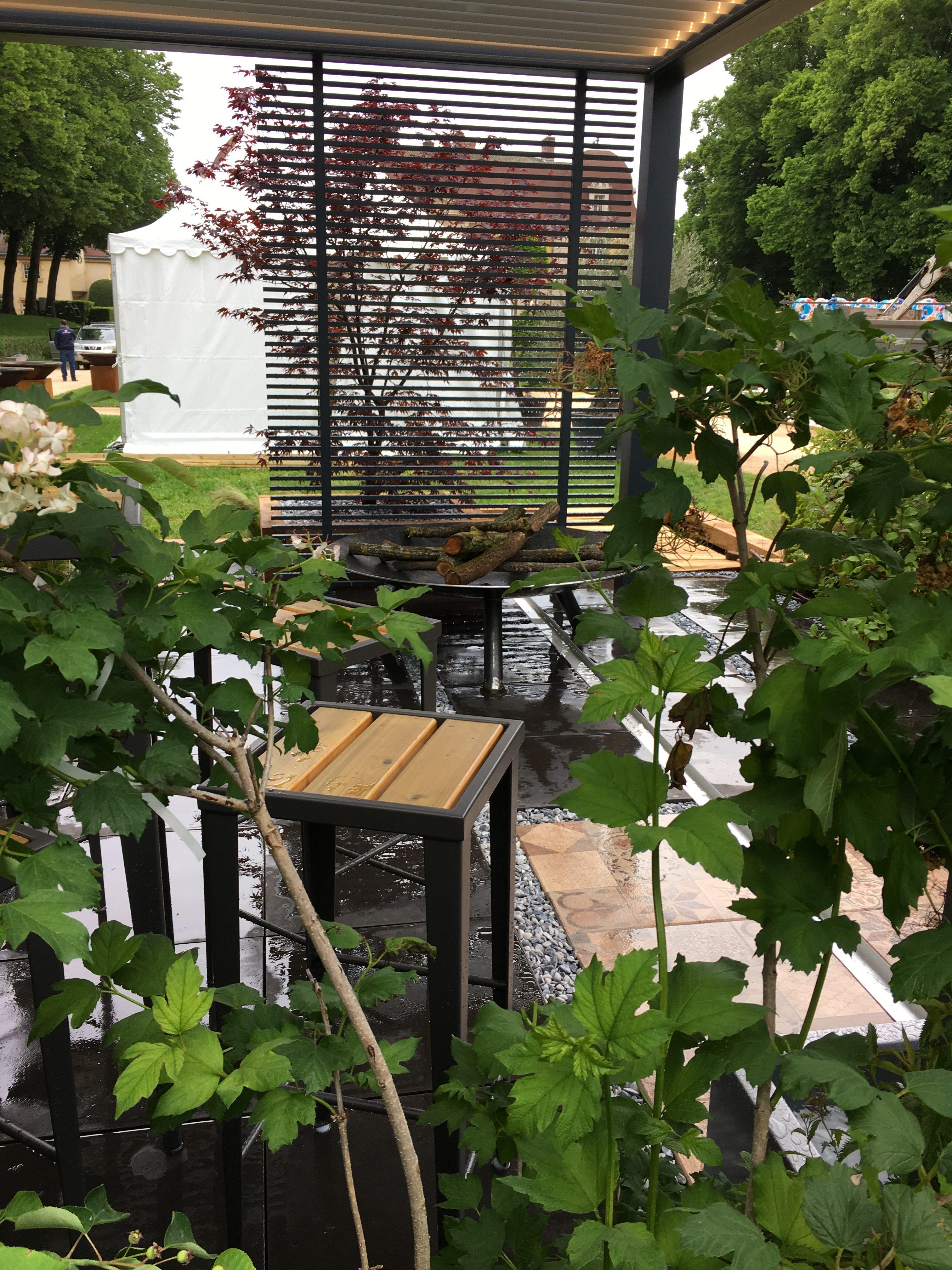 Jardin Zen Et Pergola Bioclimatique Agence Aed Ambiance